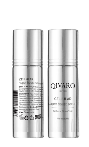 FS140009【強效激活細胞精華 | Cellular Super Boost Serum - ATX Super Boost】Qivaro Face Serums