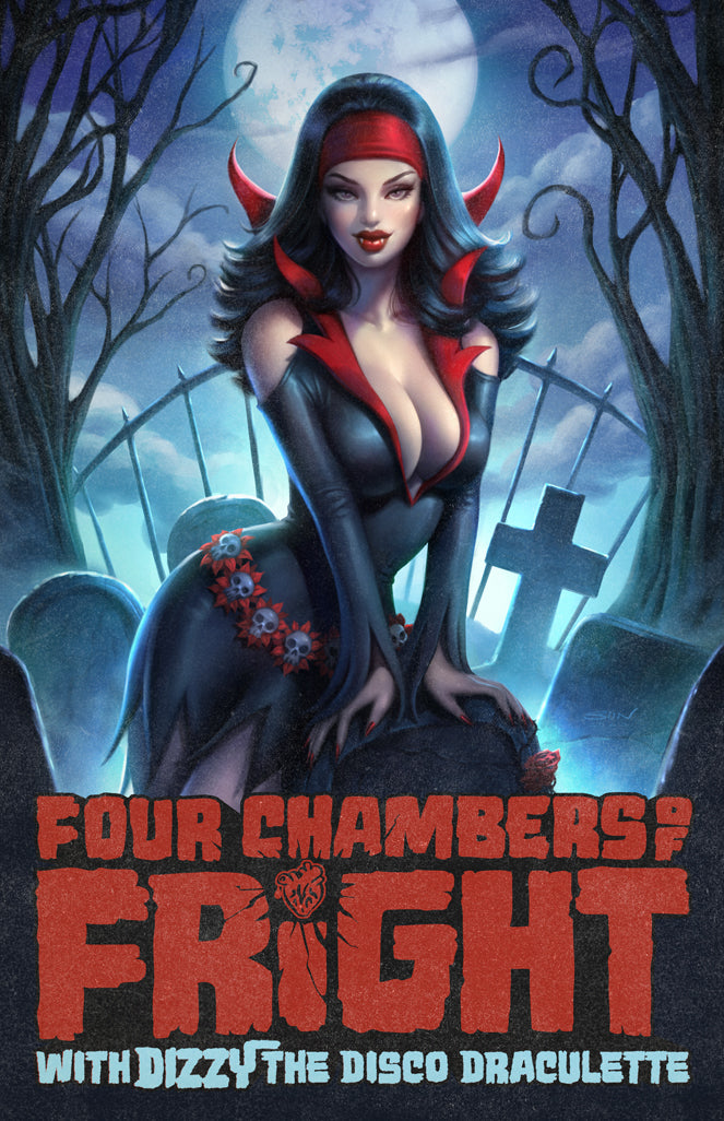 Four Chamber of Fright #1 cover