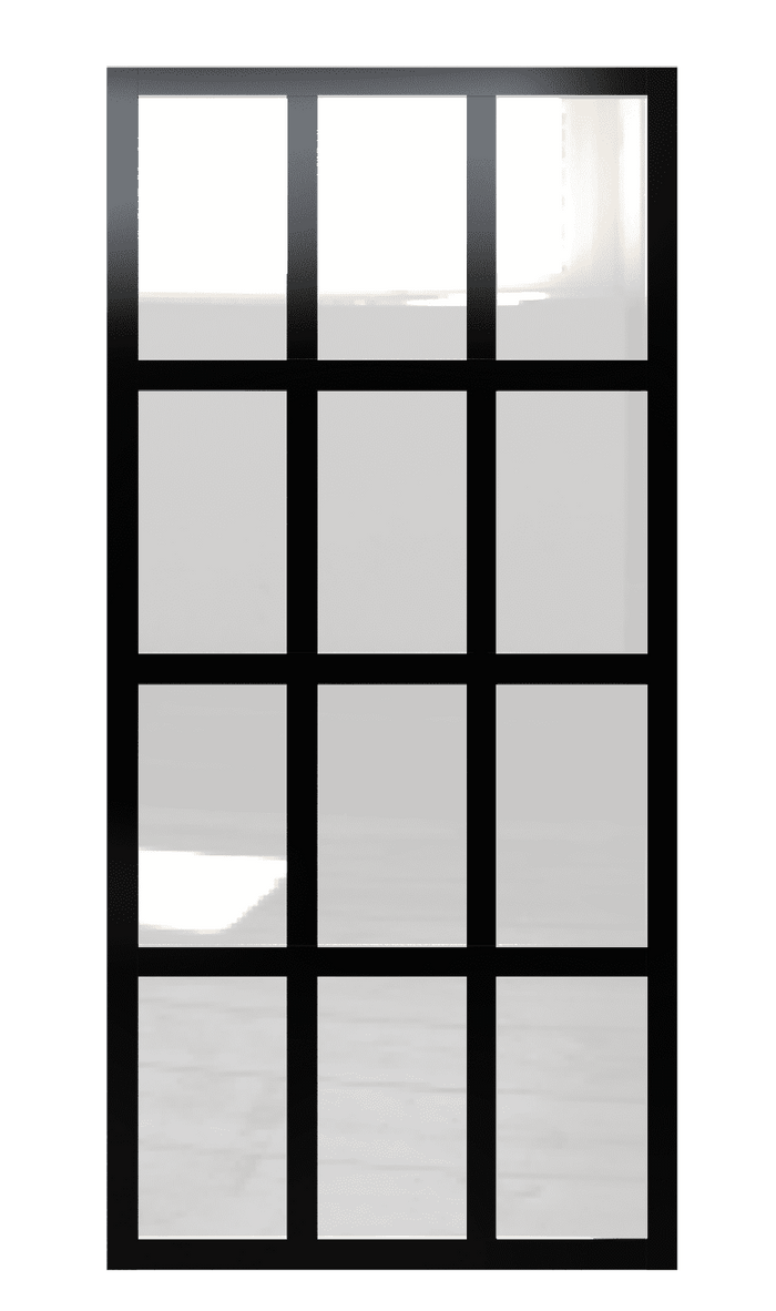 Gridscape GS1 Factory Window Partition Room Divider | True Divided Light