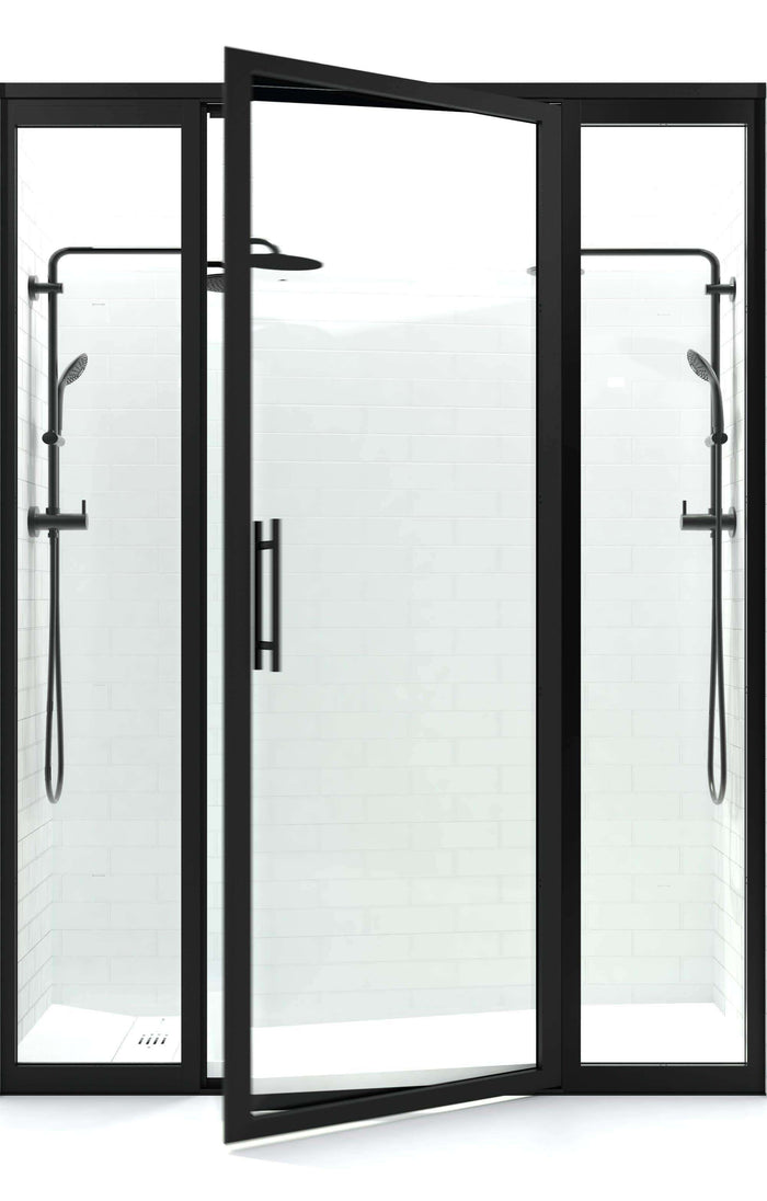 Hinged Shower Doors – divided STYLE