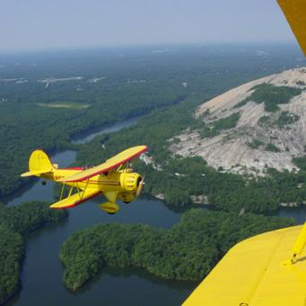Atlanta and Stone Mountain Scenic Bi-Plane Flight
