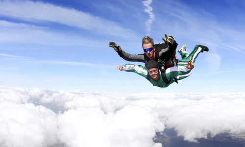 Tandem Skydive for One or Two with Accelerated Free-Fall Ground Training at Skydive Georgia