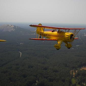 Stone Mountain Aerial Tour