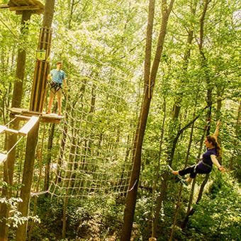 Ultimate Zip Line Adventure Course