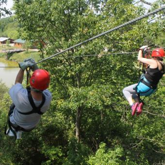 Ultimate Zipline Canopy Tour