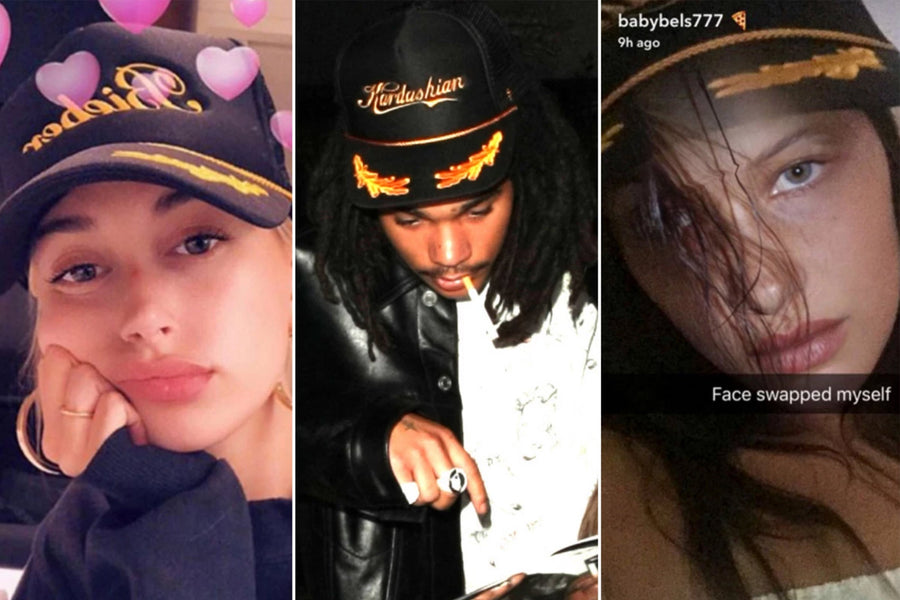 Hailey, Bella and Kendall All Love This Hat