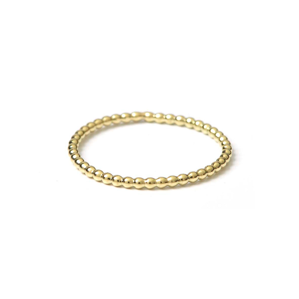 Dot Ring Gold 14k and 18k