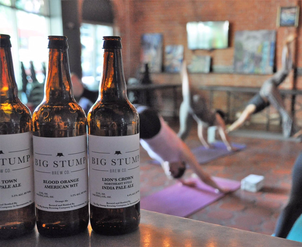 Beer Yoga @ Big Stump Brewery