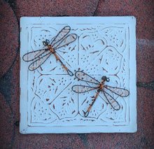 Wire Dragonfly on Tin Tile