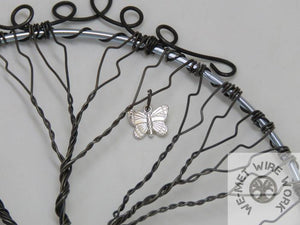 Chakra Tree of Life with choice of Charms  We-met Wire Work