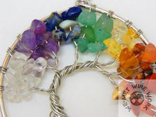 Tree of Life Sun Catcher- Mini Chakra design
