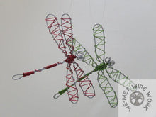 Colored Dragonfly Sun Catcher/Ornament