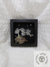 Wire Bonsai in Shadow Box