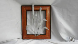 Wire Cat Tails in a Frame