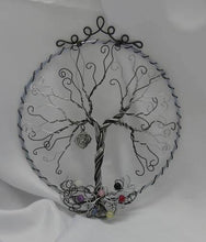 7 inch Chakra Tree of Life with choice of Charms  We-met Wire Work