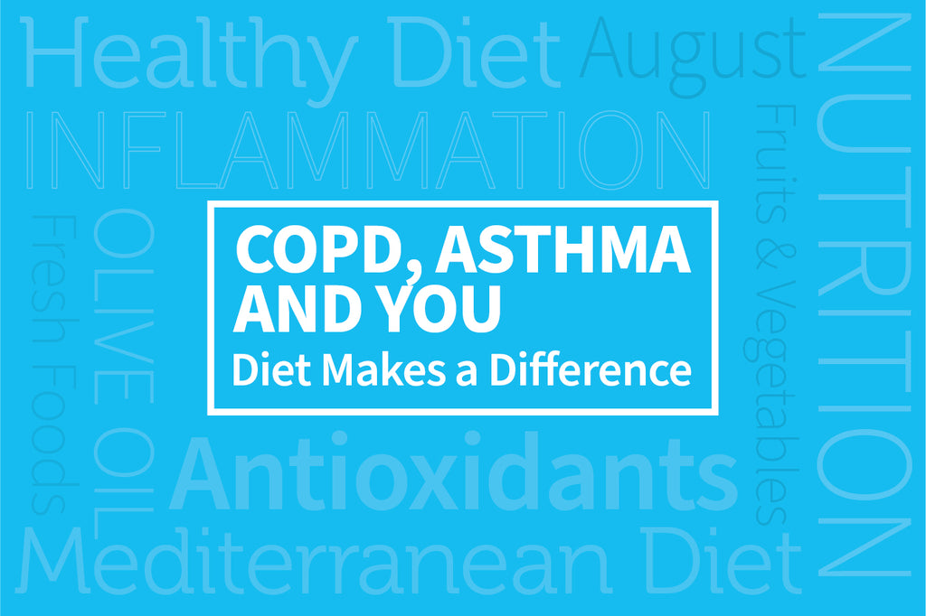 COPD, Asthma, and You:  How Diet Can Make a Difference