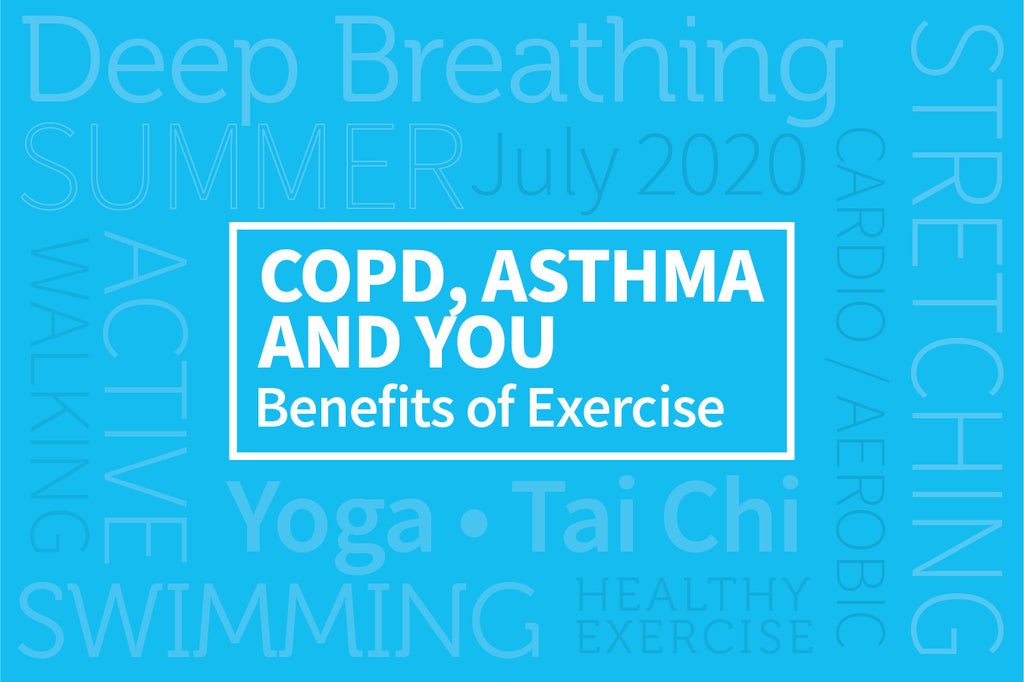 COPD, Asthma, and You: Benefits of Exercise