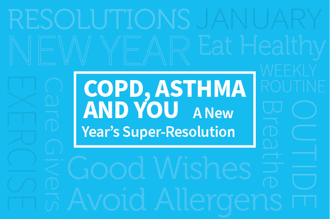 COPD, Asthma, and YOU: A New Year's Super-Resolution