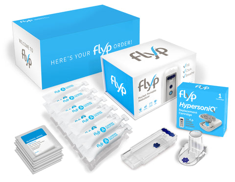 Flyp Nebulizer Welcome Box