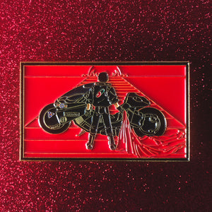 Kaneda Pin [XLarge] [Black and Red Variant]