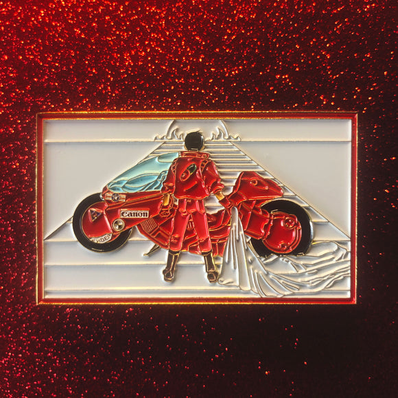 Kaneda Pin [XLarge] [White and Red Variant]