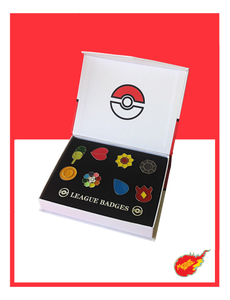 Pokemon Badge Pins
