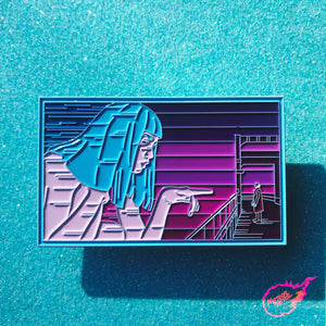 Blade Runner 2049 Joi Pin [XLarge] [Blue Dyed Variant]