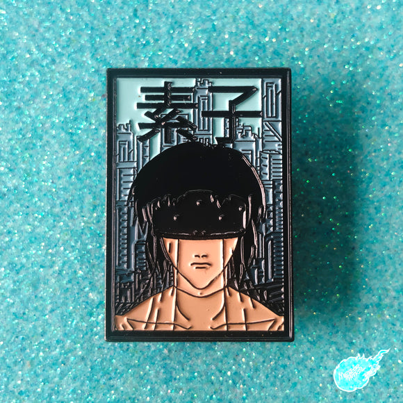 Kusanagi from Ghost in the Shell Pin