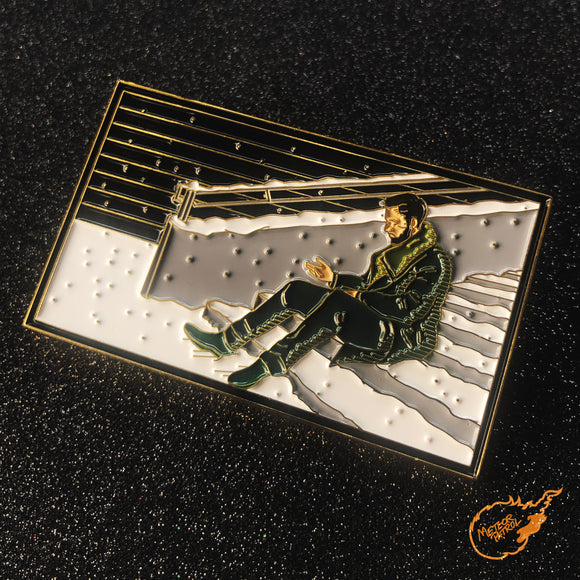 'SNOW' Blade Runner 2049 Pin [XLarge]
