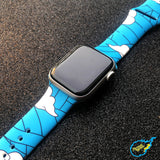 Tanjiro Blue Apple Watch Band! [38mm - 40mm]