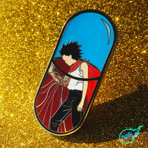 Tetsuo Pill Pin [XLarge] [Gold Plated]