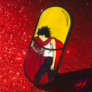 Tetsuo Pill Pin [XLarge] [Black Nickel Plated]