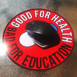 "Akira ""Good For Health"" Circular Mouse Pad"