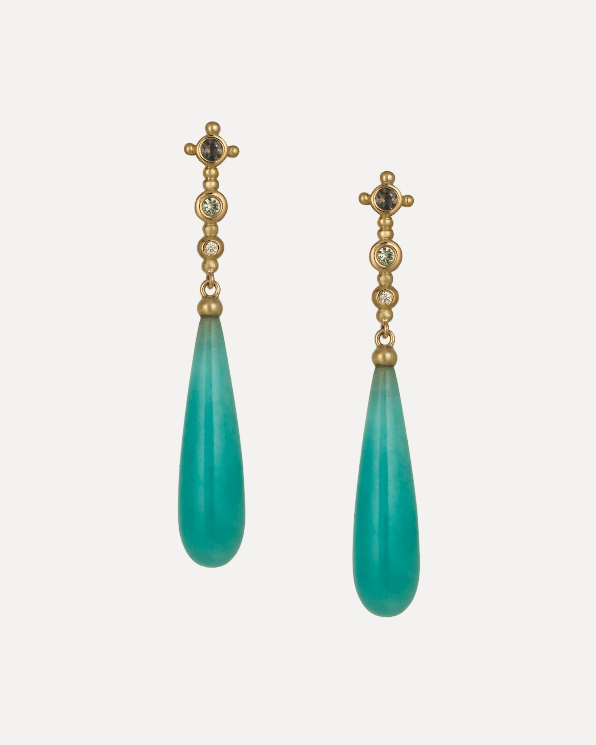 Amazonite Sceptre Drops