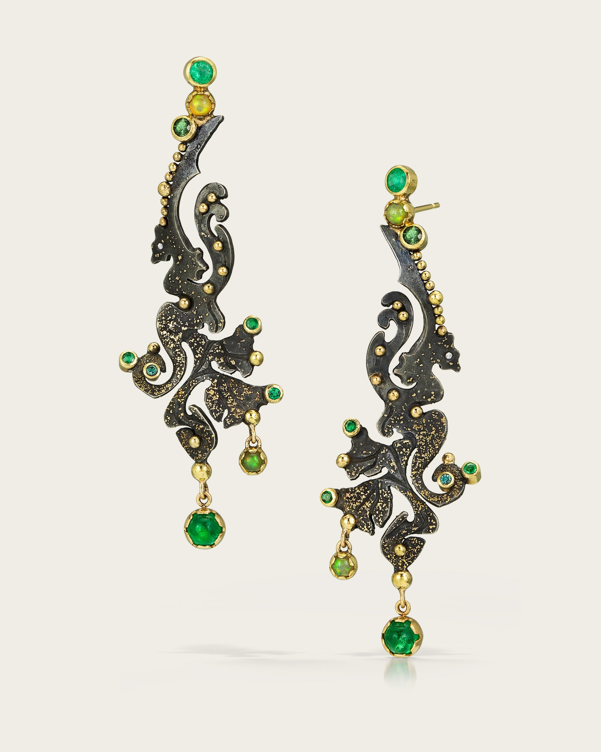 Dragon Seahorse Earrings