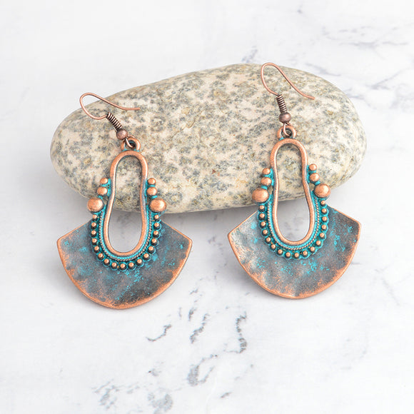 Vintage Chandelier Boho Drop Earrings