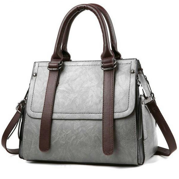 Large Capacity PU Leather Ladies Tote  Shoulder Bag