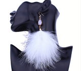 Fun Fluffy Feather Earrings To Spice Up Your Life