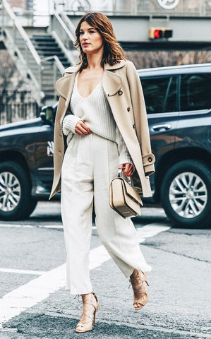 head to toe neutrals, neutrals, neutral clothes, spring 2019, summer 2019, trends