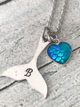 Girls stamped Mermaid Necklace