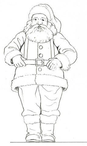 Santa / Father Christmas - Downloadable Plan Drawings