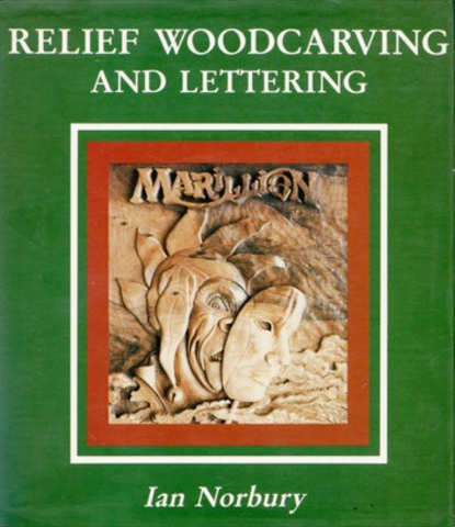 Relief Woodcarving and Lettering Ebook - Ian Norbury