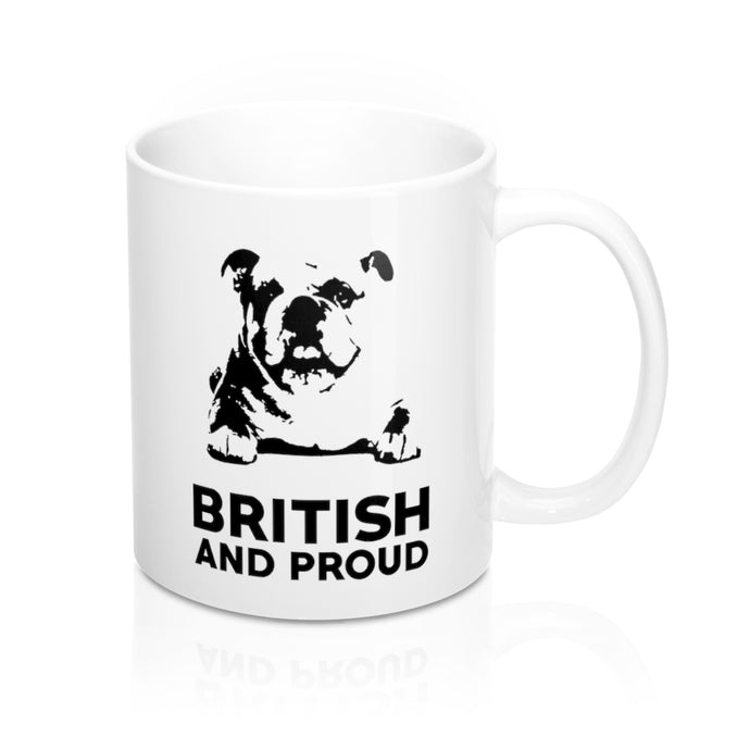 British and Proud Mug