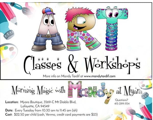 Children's classes at Myara