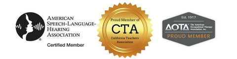 AdaptEd 4 Special Ed Member Associations ASHA, CTA, AOTA