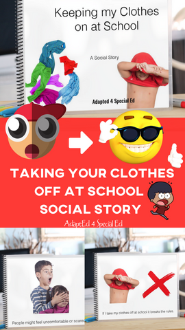 These social stories give me and my students the language and the visuals to talk about some of their trickiest behaviors to regulate! Thank you so much for providing my students with these awesome behavior management ideas!  I need all the special education behavior management help I can get!!!! #specialed #adapted4specialed