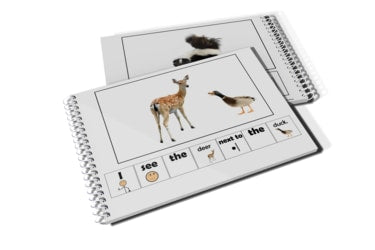 Adapted 4 Special Ed Easy Reader Wild Animals Next to Emergent Readers