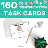 Task Cards: Coin Identification
