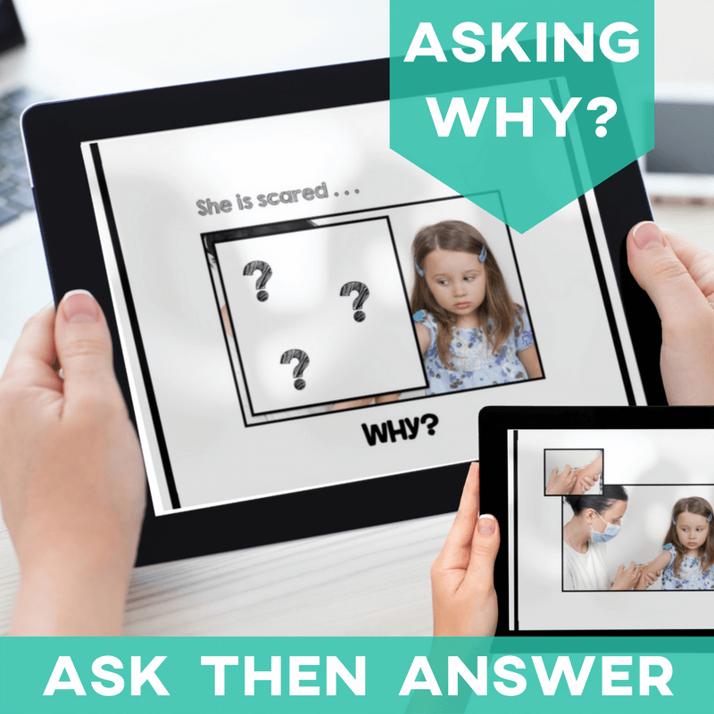 Asking Questions Why Speech and Language WH Questions AdaptEd 4 Special Ed