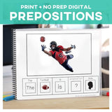 Prepositions Activity Adapted 4 Special Ed Adapted Book Task Cards No Prep Google Drive